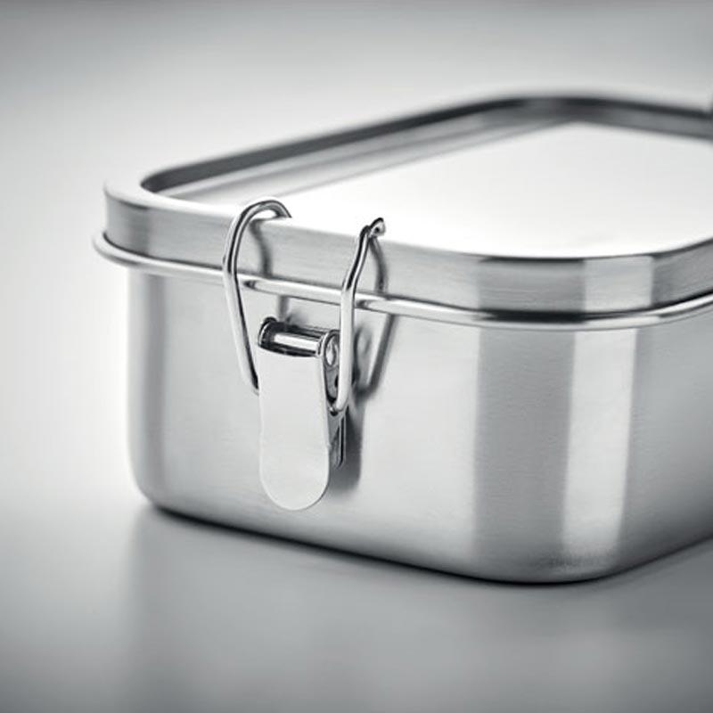 lunch box personnalisée en inox chan - cadeau entreprise durable