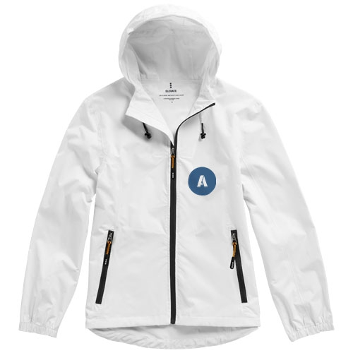 textile publicitaire - veste de pluie publicitaire pour hommes labrador - blanc