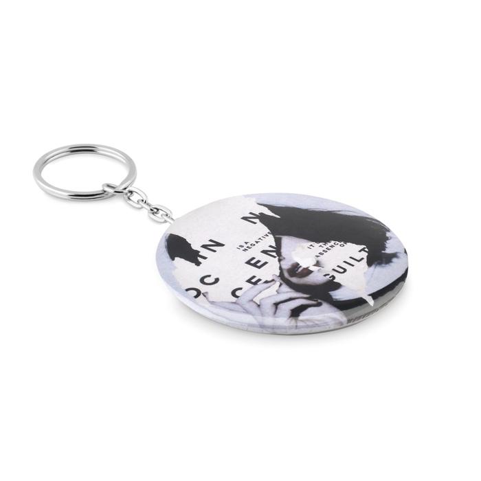 Goodies - Décapsuleur porte-clés personnalisé Pin Flask