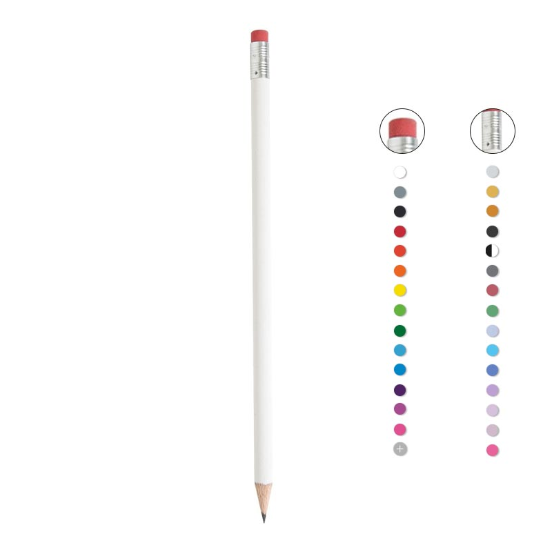 Kit marque-page publicitaire et crayon à papier Eco Pantone - Coloris disponibles