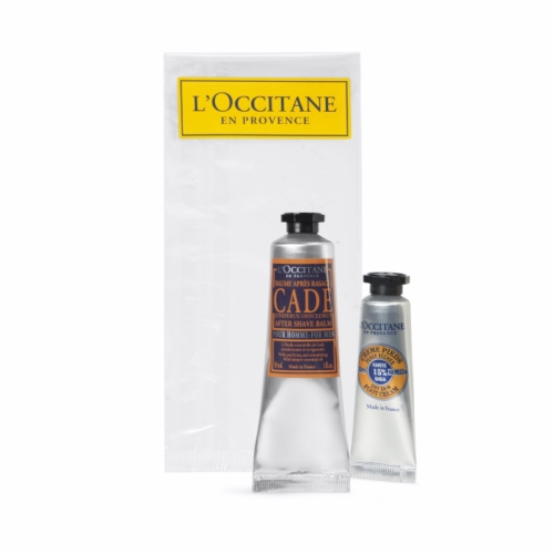 Mini kit découverte publicitaire pour l'Homme de L'Occitane en Provence - cadeau d'entrepr