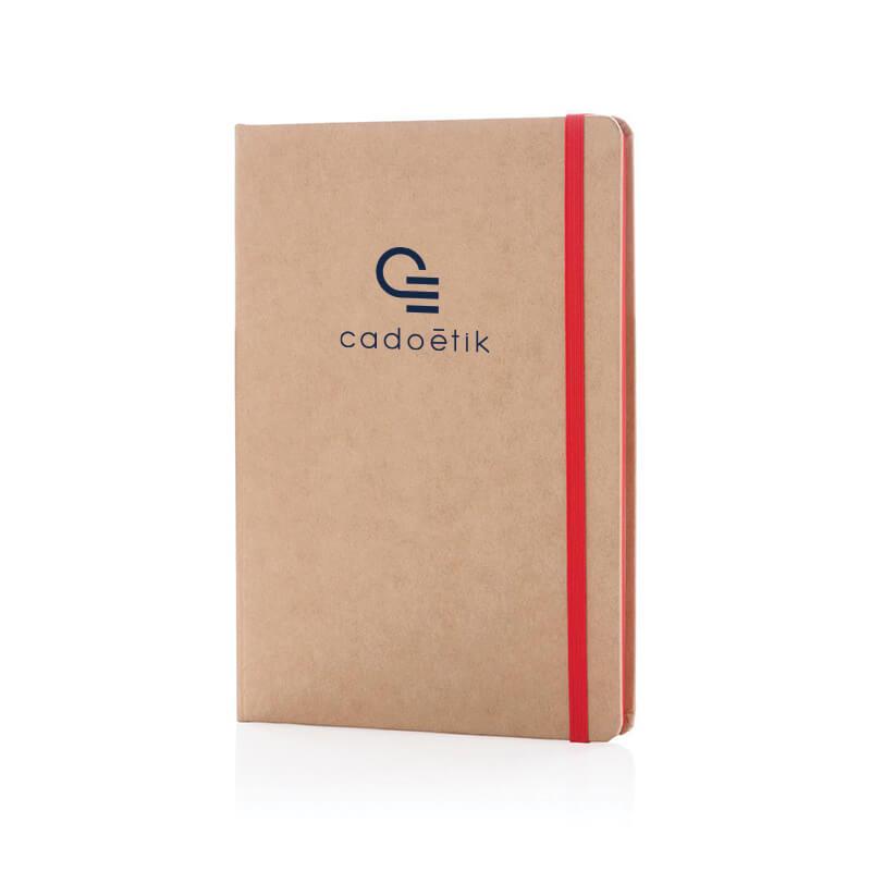 Carnet A5 publicitaire kraft écologique A5 Cardboard