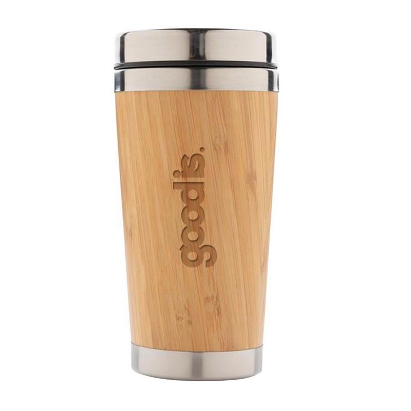 Mug isotherme en bambou Tumbo - Goodies écolo