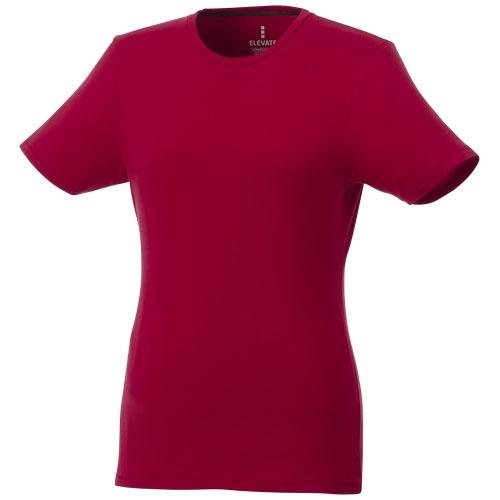 T-shirt publicitaire bio manches courtes femme Balfour - noir