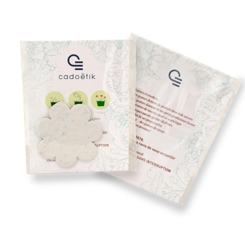 Confettis biodégradables publicitaires
