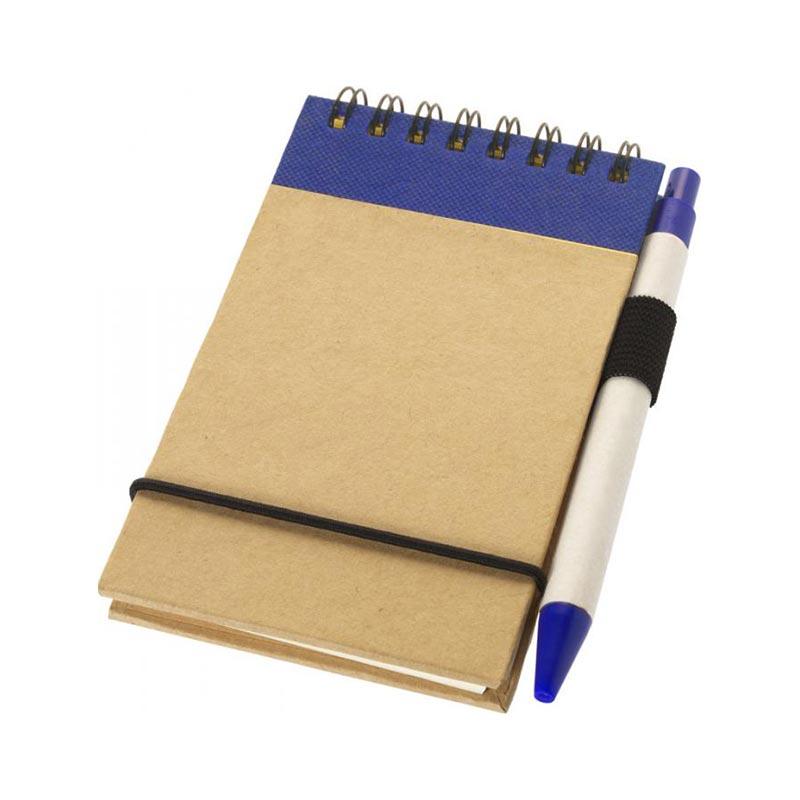 Goodies écologique - Bloc-notes avec stylo Zuse