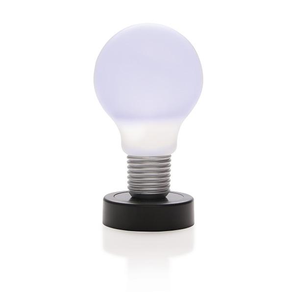 Lampe LED personnalisable à poussoir Take - objet publicitaire