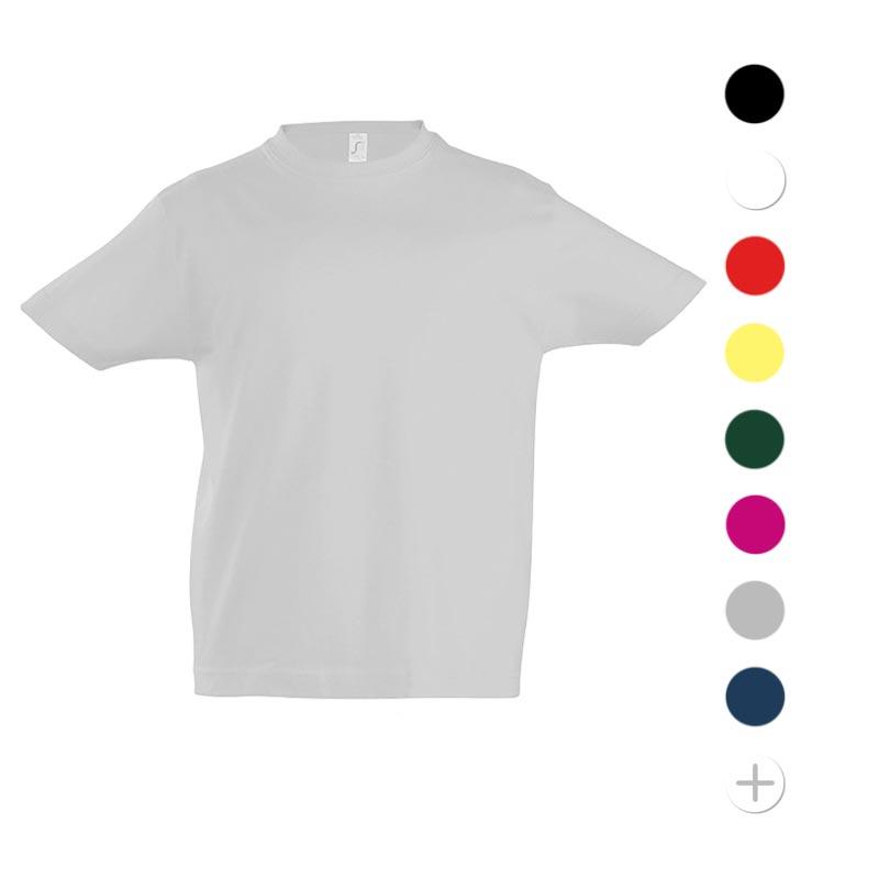 tee-shirt personnalisé pour enfant imperial - coloris