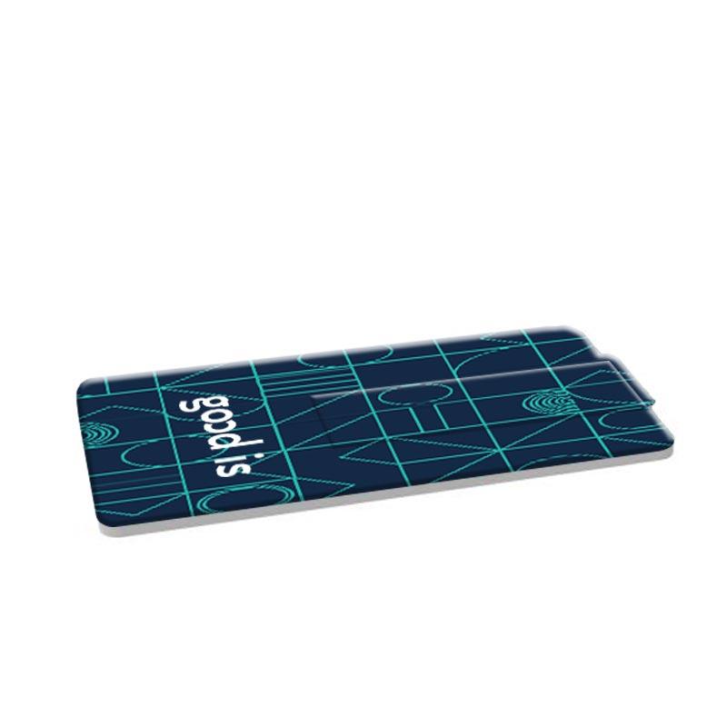 Clé USB publicitaire carte de crédit Mini  - Objet publicitaire