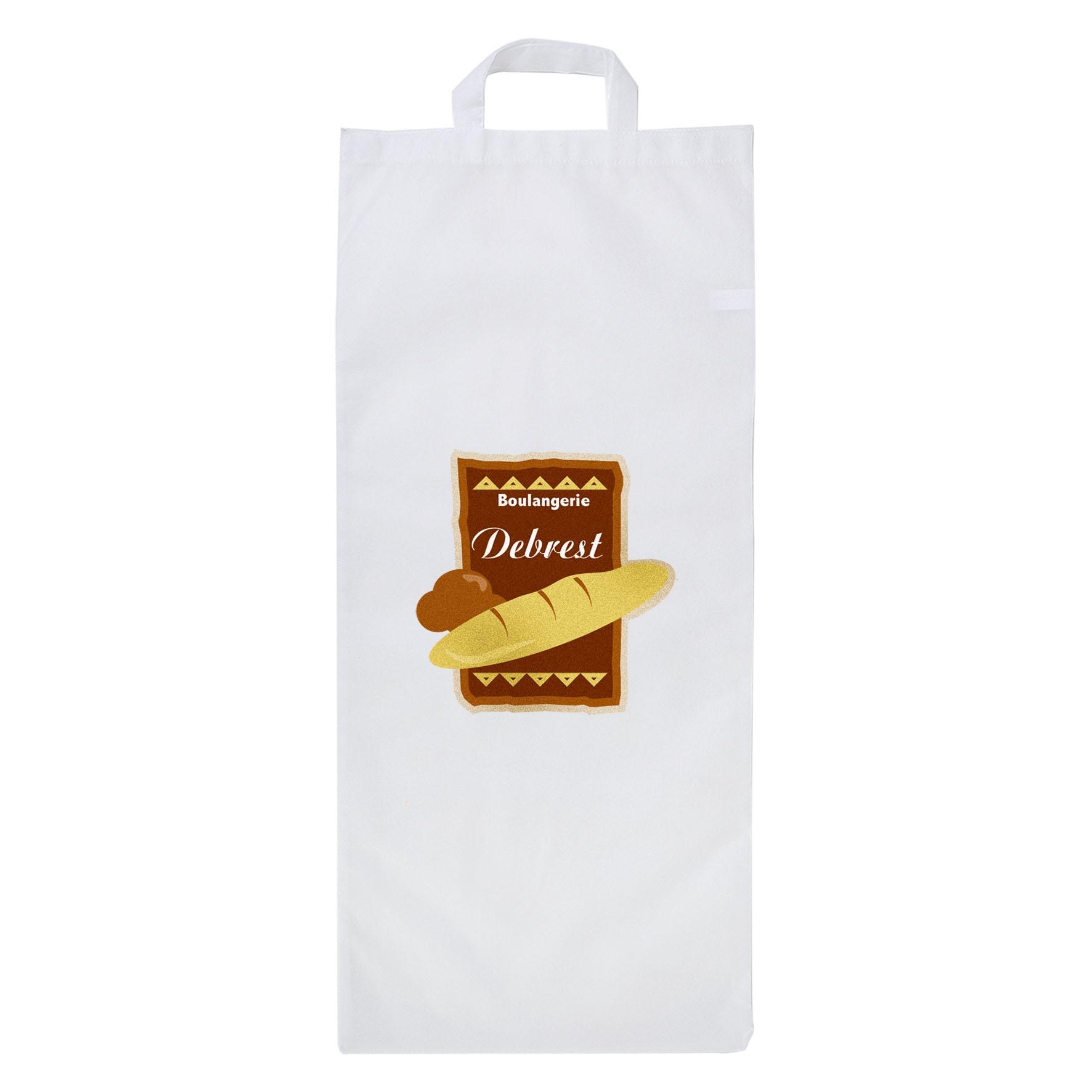 Sac à pain personnalisable non tissé Miette - cadeau promotionnel