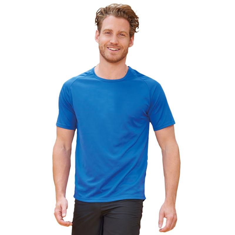 T-shirt publicitaire respirant homme Sporty 140 g - Textile publicitaire sport