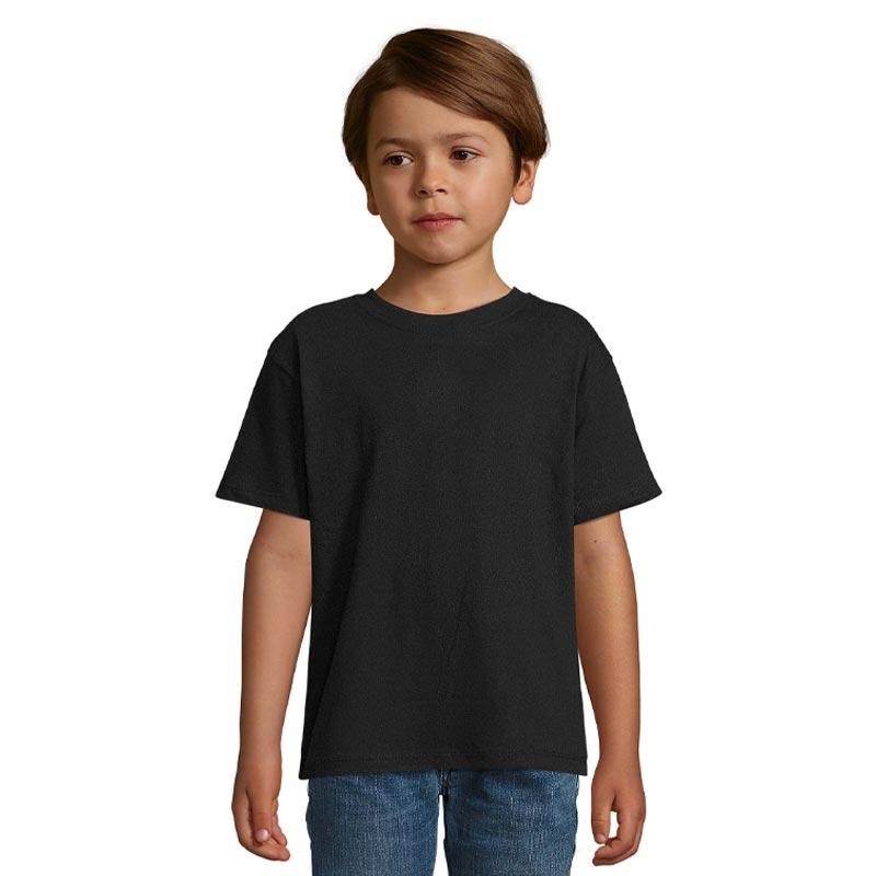 tee-shirt publicitaire pour enfant Regent noir