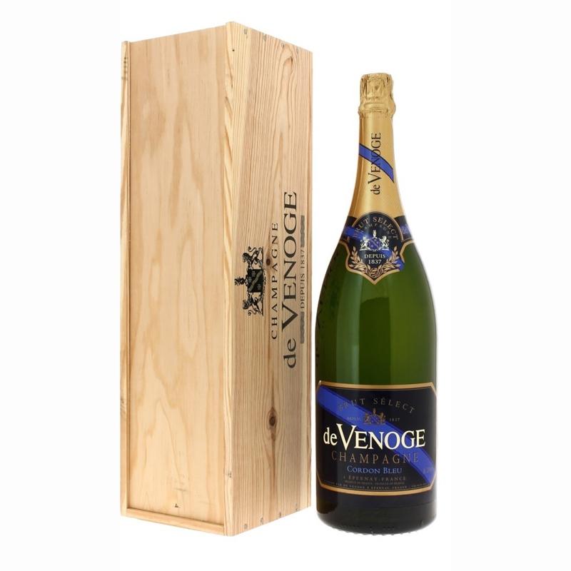 Champagne Cordon Bleu Brut Select Magnum - cadeau d'affaires