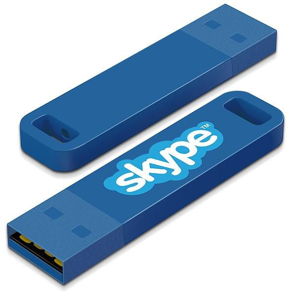 Clé USB publicitaire Iron C - Clé USB personnalisable - fuchsia