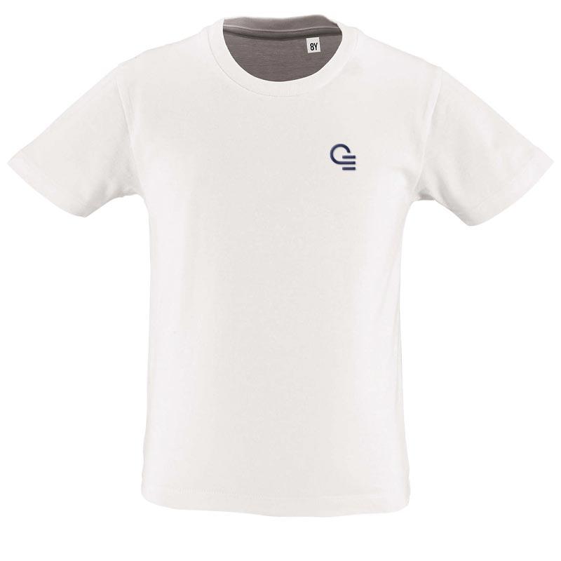 tee-shirt personnalisé enfant en coton bio Milo