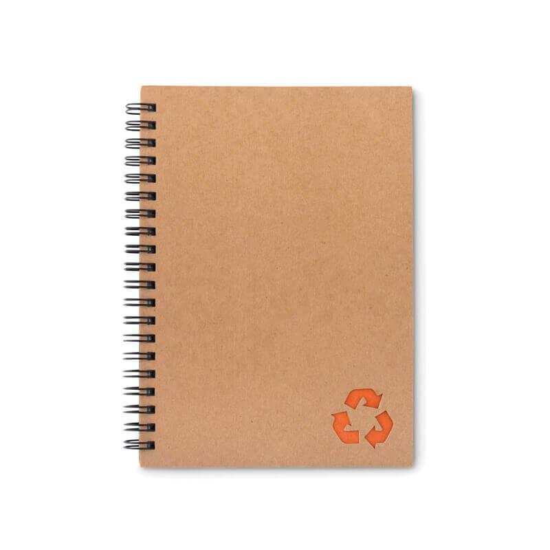 Cahier à spirales personnalisé 70 feuilles STONEBOOK