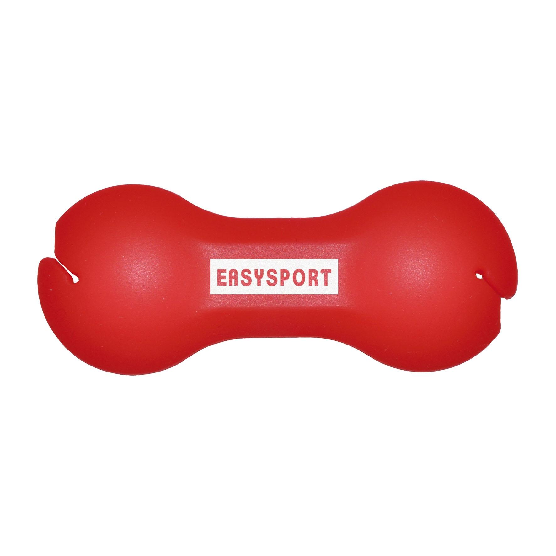 Goodies - support-ecouteurs-publicitaires-Haltere - rouge