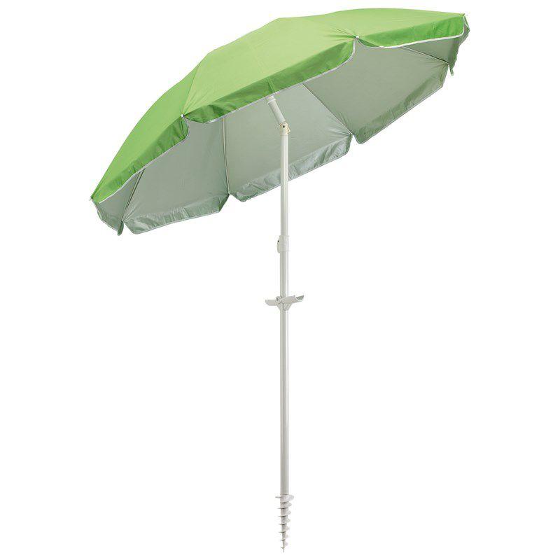 Parasol personnalisé inclinable Beachclub -parasol articulé publicitaire