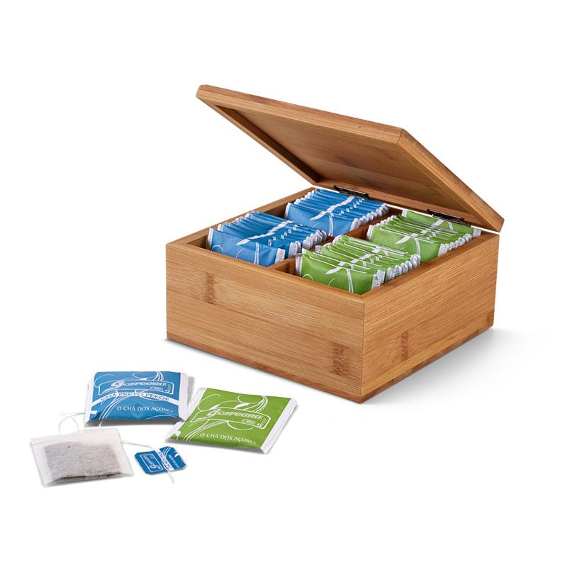 Cadeau d'entreprise écologique - Boîte à thé Pekoe