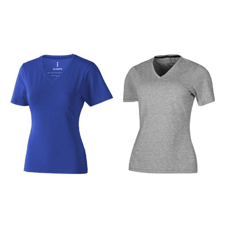 textile promotionnel - T-shirt bio personnalisé manches courtes pour femmes Kawartha