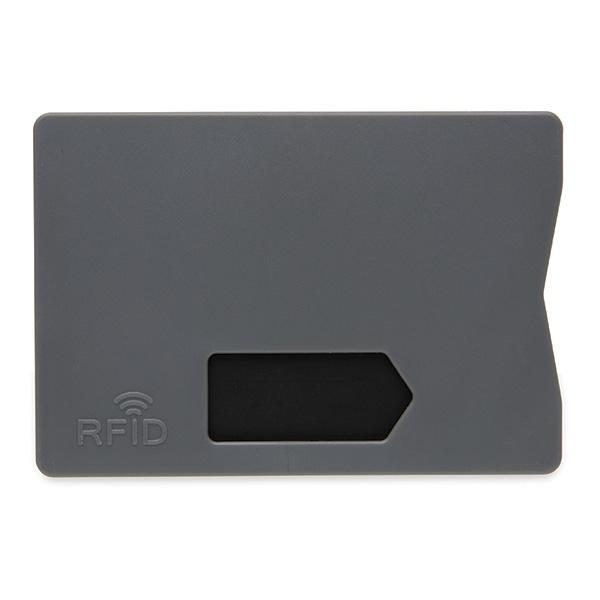 Porte-cartes publicitaire RFID - vert anis