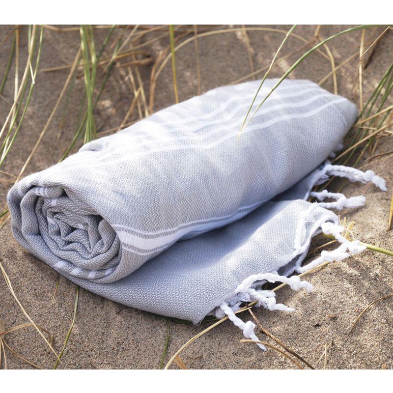 Serviette de plage personnalisée - Fouta personnalisable Hamsultan