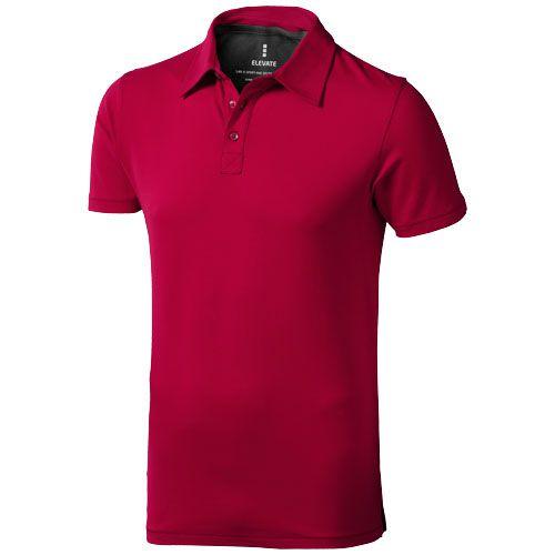 Polo manches courtes rouge pour homme