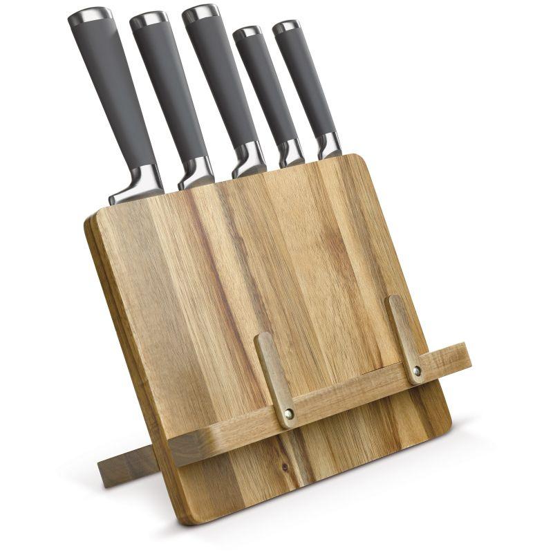 cadeau d'entreprise cuisine - Support livre de cuisine couteaux Arty