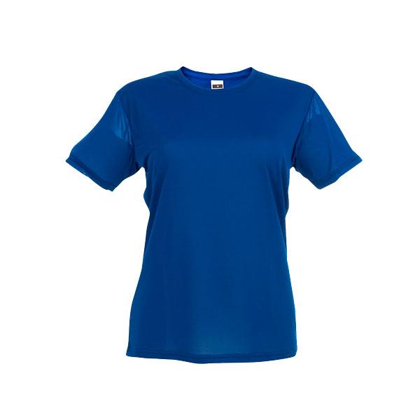T-shirt publicitaire technique femme Nicosia - bleu royal