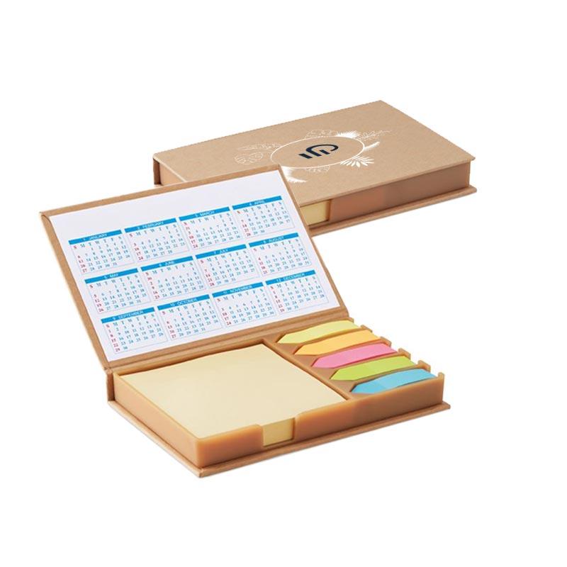 Set de bureau avec calendrier Memocalendar