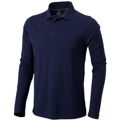 Polo bleu marine pour hommes personnalisable