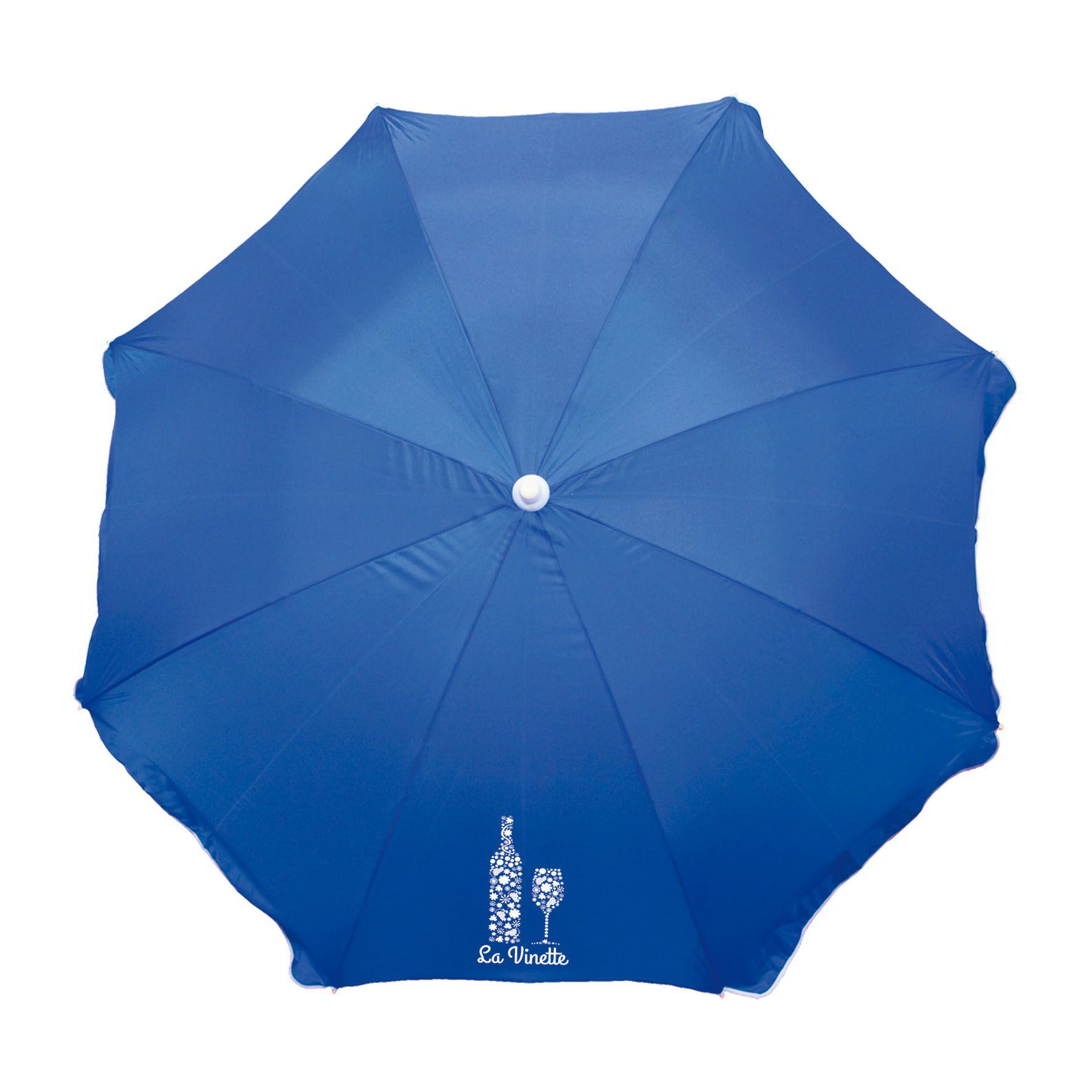 Cadeau promotionnel - Parasol publicitaire Plein Soleil - blanc