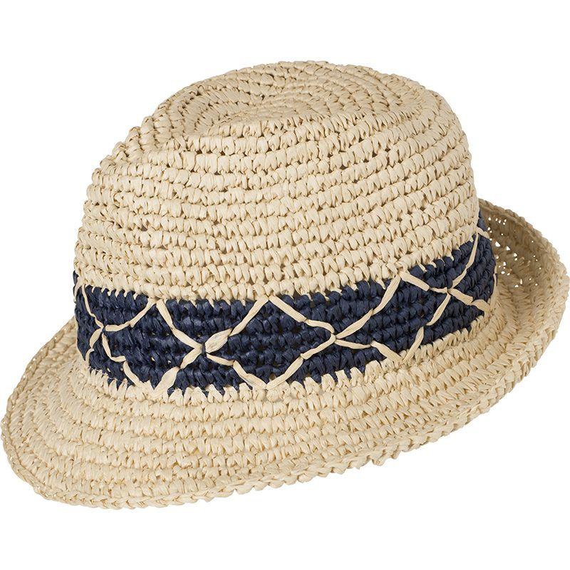 Chapeau promotionnel Tressé - marron