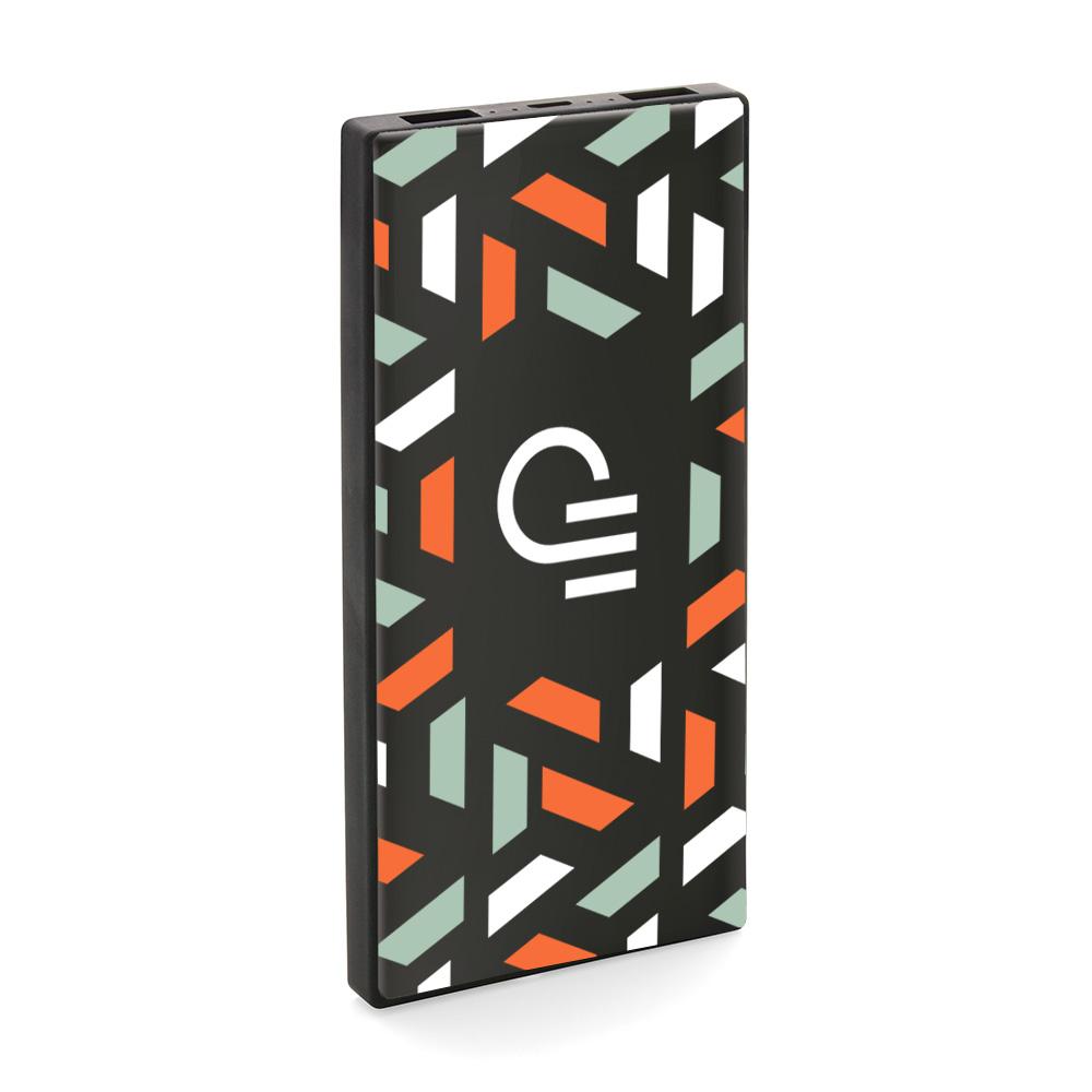 Batterie de secours publicitaire avec verre trempé Glassy 5000 mAh 1