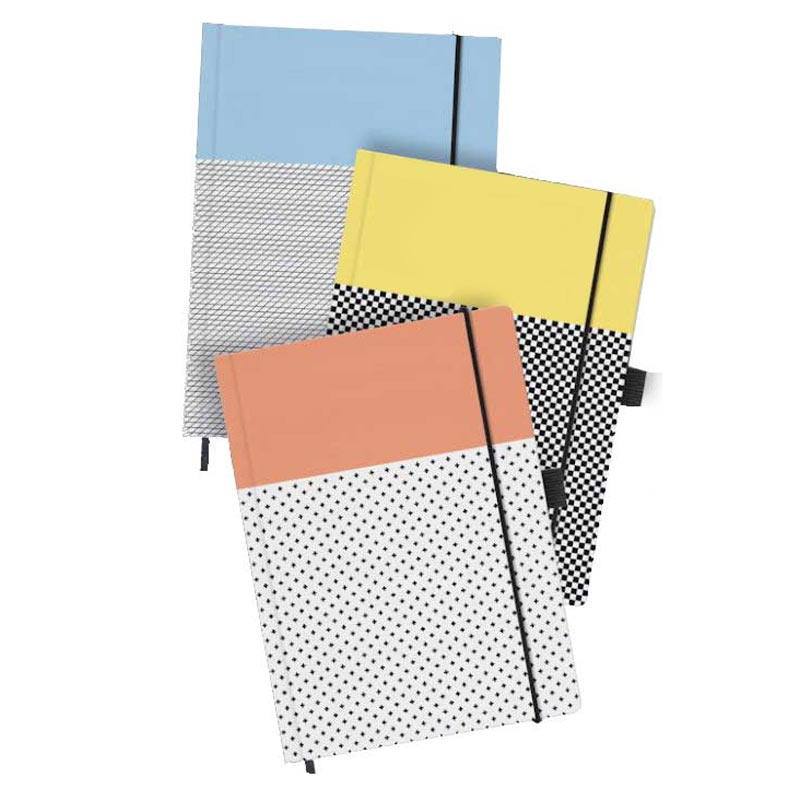 carnet écologique personnalisable Graph A5 - cadeau client
