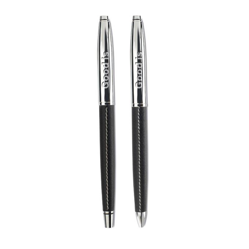 Cadeau publicitaire - Parure stylos publicitaires roller/bille Baltimore