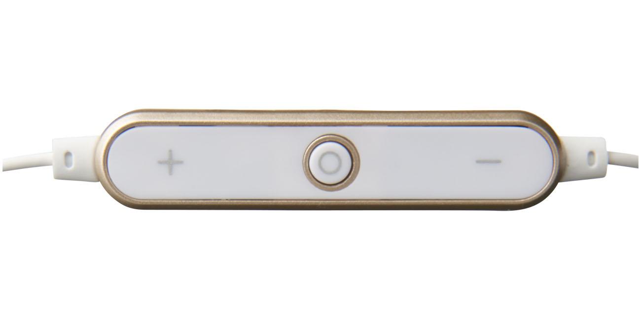 Cadeau publicitaire - Ecouteurs publicitaires Bluetooth® Shiny