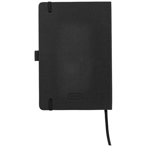 Carnet publicitaire A5 Journalbooks® Ebéniste marron - carnet personnalisable