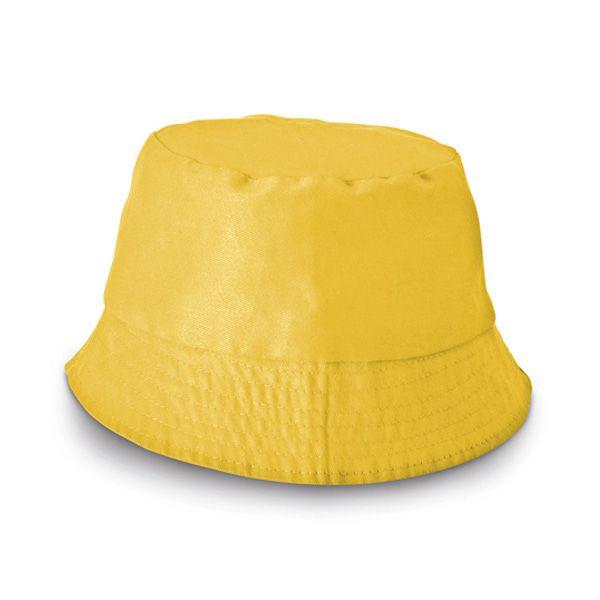 Chapeau publicitaire - Bob personnalisé Chapi - blanc