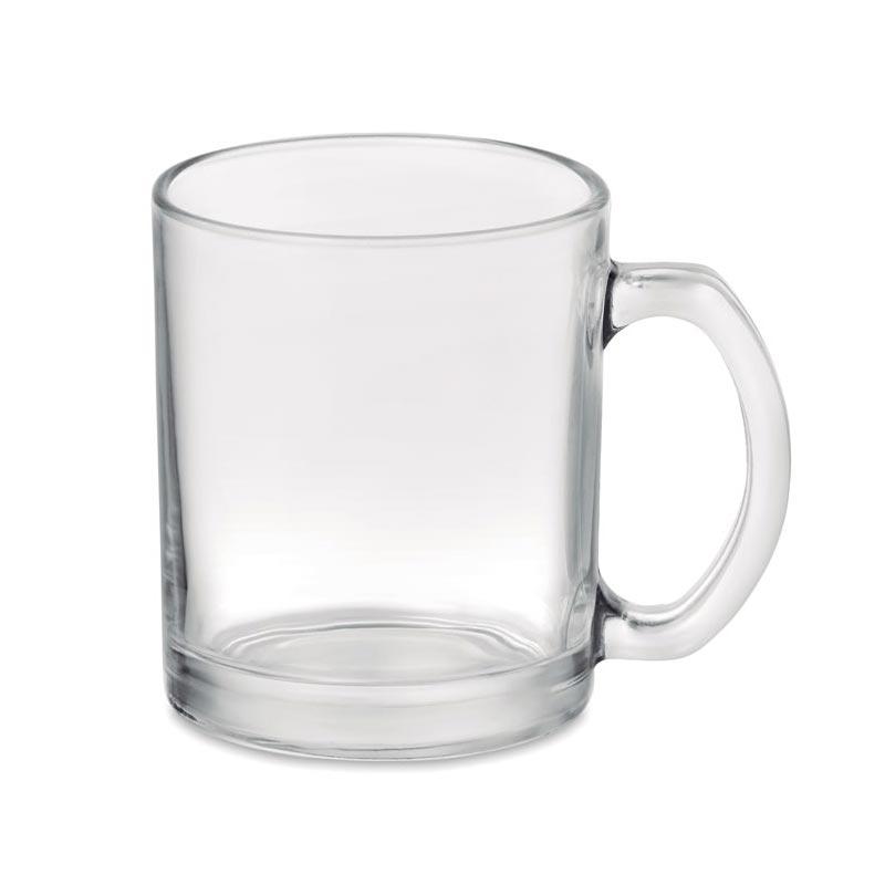 Mug publicitaire en verre Sublimgloss pour welcome pack entreprise
