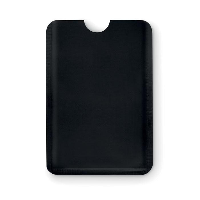 Porte-cartes publicitaire RFID Guardian - bleu
