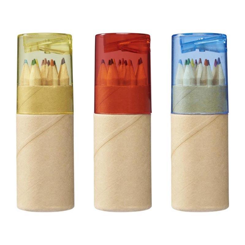 Set de 12 crayons de couleur Joan 3 coloris au choix