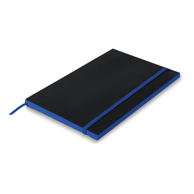 Carnet A5 en papier Black Note - bleu