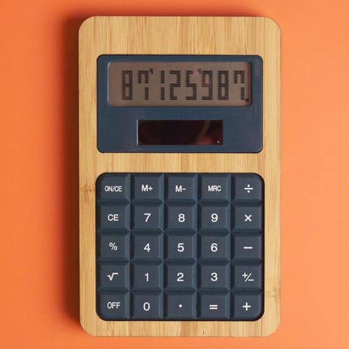 Calculatrice publicitaire écologique Silical - Calculatrice personnalisable solaire