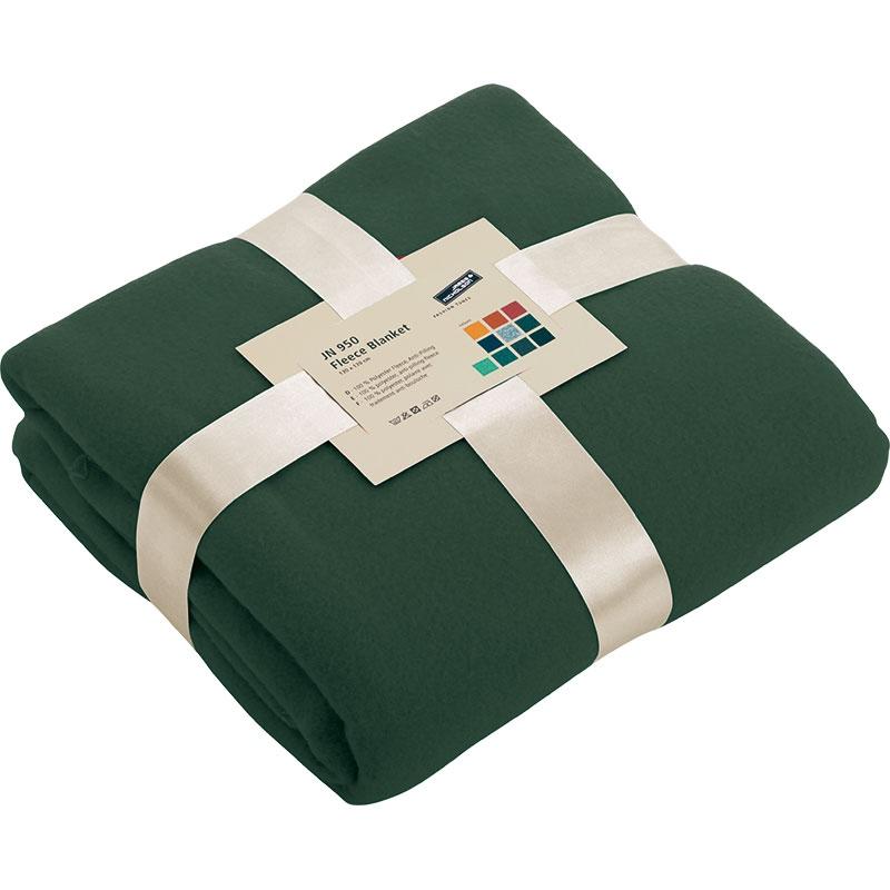 Cadeau d'entreprise - Couverture polaire publicitaire Cocoon - vert clair