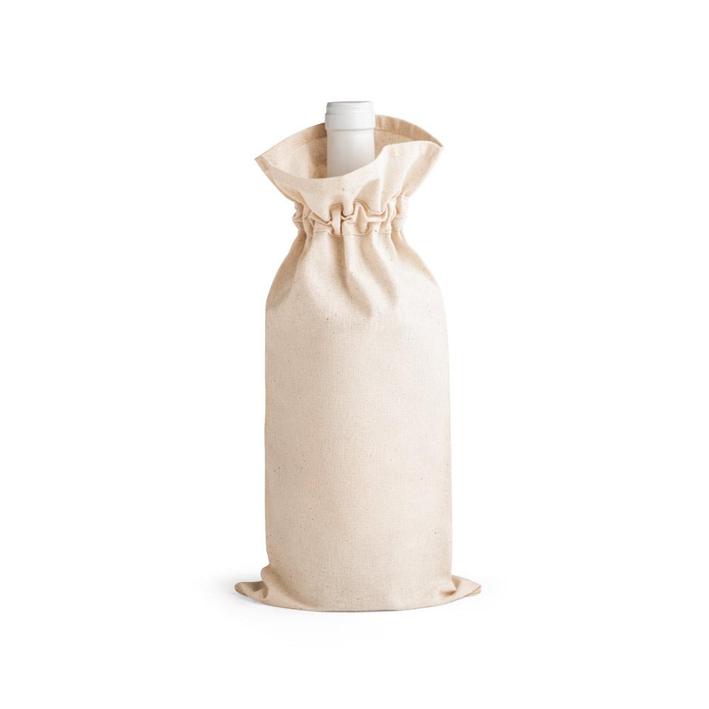 Sac bouteille publicitaire en coton Jerome 1