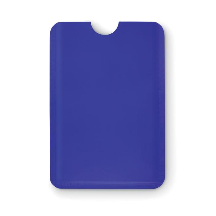 Porte-cartes publicitaire RFID Guardian - rouge