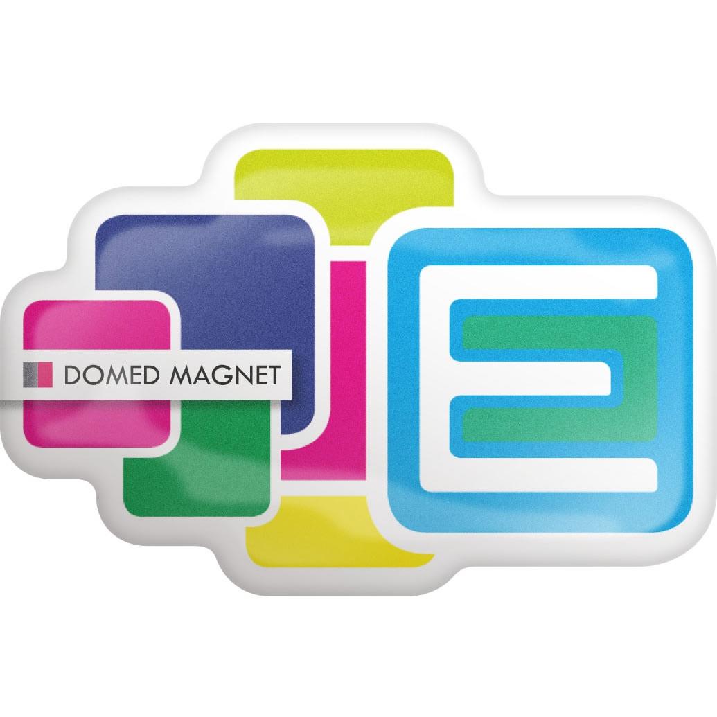Magnet publicitaire doming 0,4 mm Contour - goodies