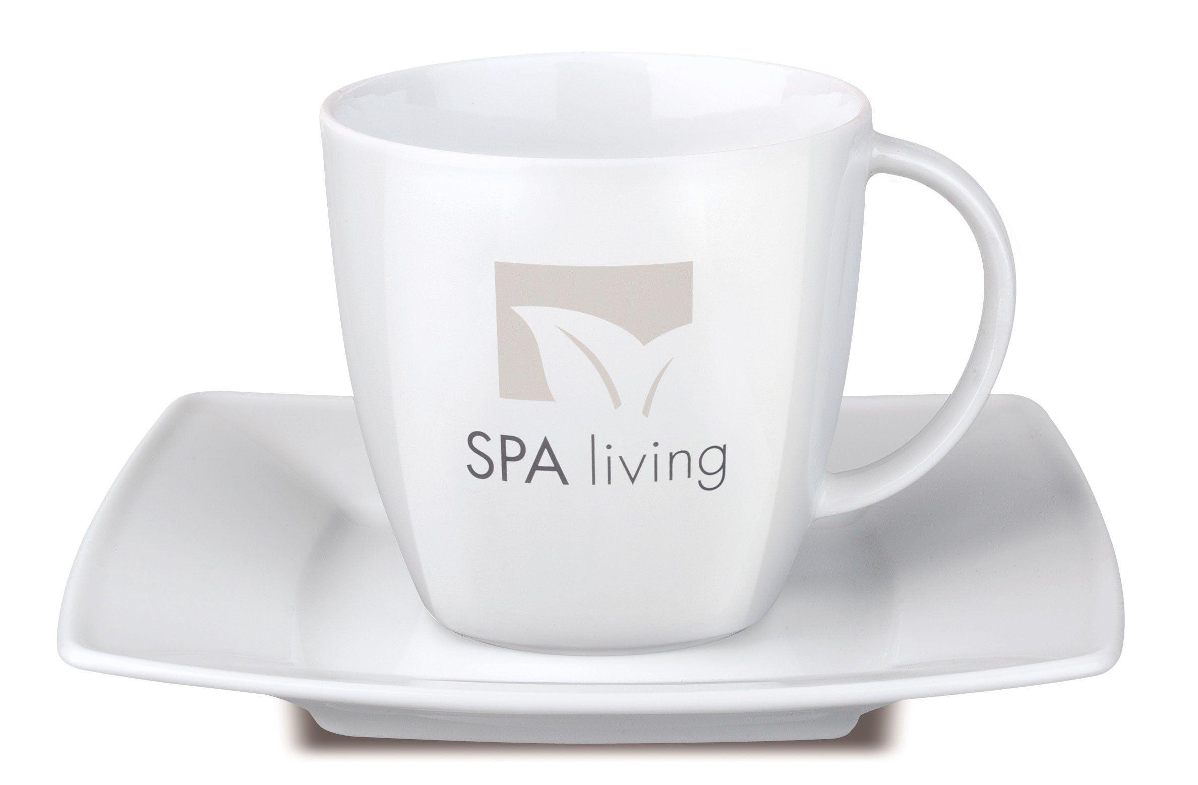 Tasse publicitaire Set Maxim café - tasse personnalisable
