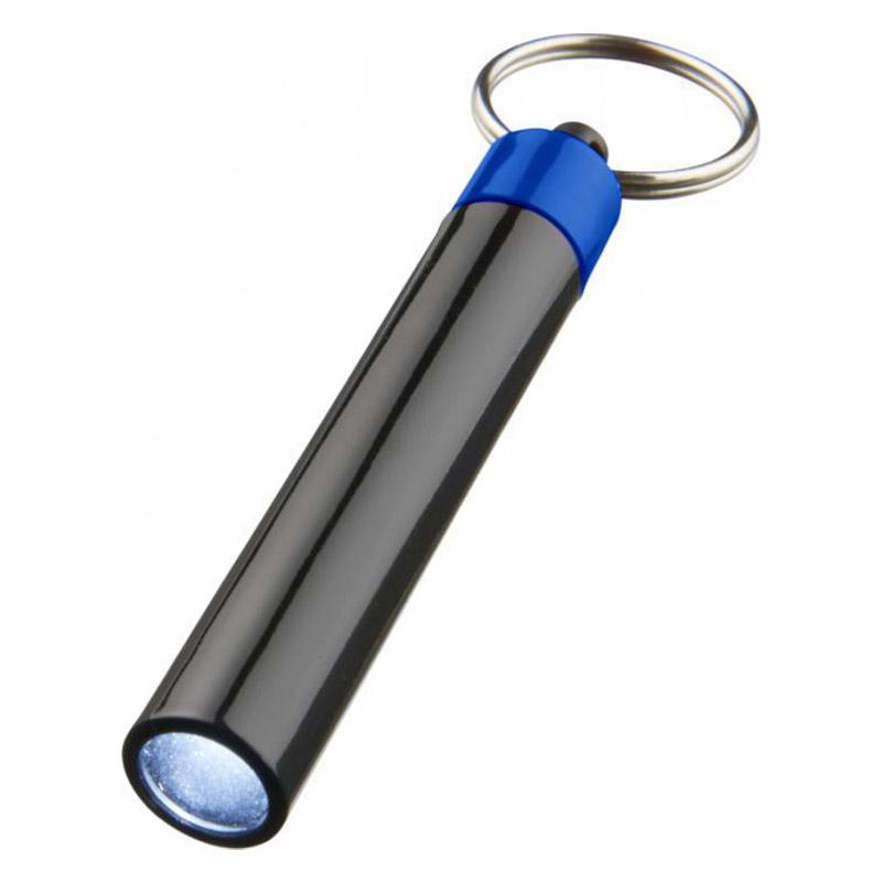 Porte-clés personnalisé lampe Retro noir
